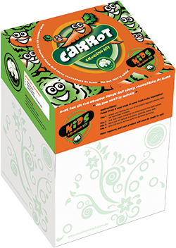 Kids 3D Growing Kit - Carrots